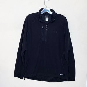 The North Face Pullover 1/4 Zip Black